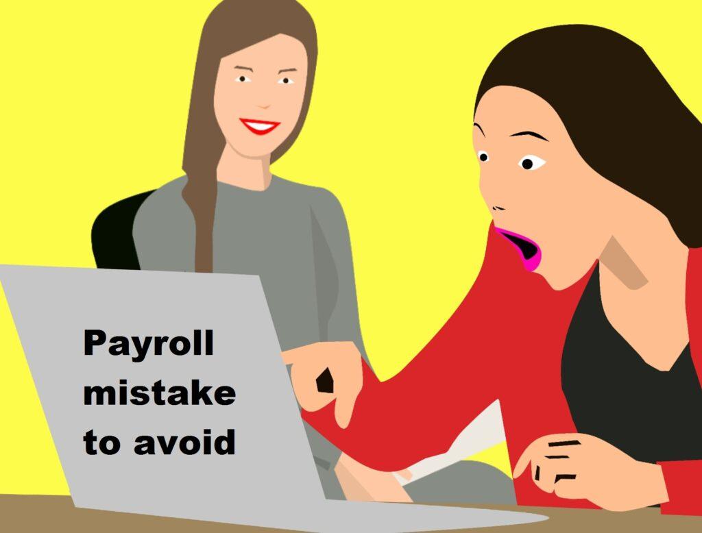 payroll mistake
